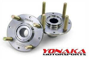 Yonaka 92 00 Honda Civic Wheel Hub Swap Set K20 K24 Rsx 36mm 240mm Brake Rotor