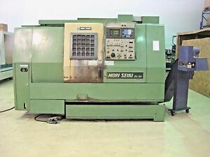 Mori Seiki Zl 20 4 axis Cnc Turning Center Lathe Twin Turret Fanuc Chuck 15 25