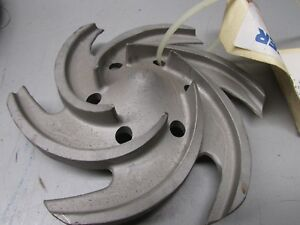 Sulzer Pump Impeller Cpt 230 Max Dia 6 P n 610451mp41