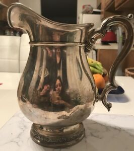 Vintage Sterling Silver International Prelude Large Water Pitcher E95 4 1 4 Pint