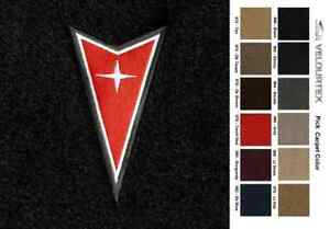 Lloyd Mats Pontiac Grand Prix Dart Emblem Velourtex 4pc Floor Mats 1966 2008