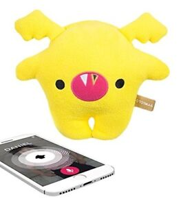 Toymail Teensie Voice Recorder App Toy Mini Voice Recorder Bitsy Bat Yellow New