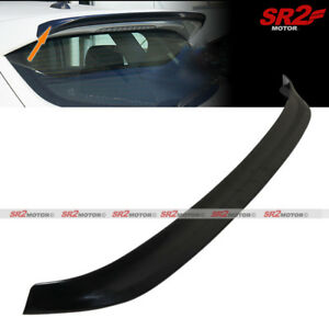 Add On Rear Roof Spoiler Extension Ms Style Wing For 2010 2013 Mazda 3 Hatchback
