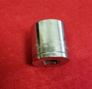 Used Blue Point Tools By Snap On Metric 13 16 6 Point 3 8 Drive Chrome Socket