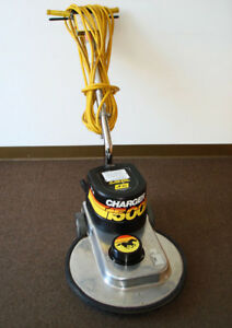 High Speed Floor Machine Buffer Nss Charger 1500 By Nss Good Condition