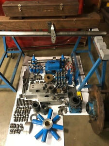 Line Boring Machine 3 Bar X 48 72 Complite Set up Bearings And Head