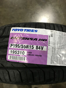 4 New 195 55 15 Toyo Extensa Hp Tires