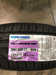 4 New 205 50 17 Toyo Extensa Hp Tires