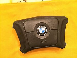 Bmw Oem E34 Steering Wheel Airbag W Color Emblem From 1995 5 Series 3210933069
