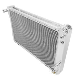 1982 1992 Chevy Camaro Aluminum 3 Row Champion Radiator