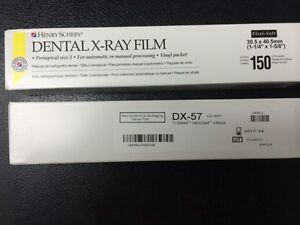 Dental X ray Film Dx 57 D speed 150 Each Box1500 Total Equivalent To Kodak Df 57