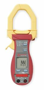 Amprobe Clamp On Digital Clamp Meter 2 Jaw Capacity Cat Iii 600v Acdc 100