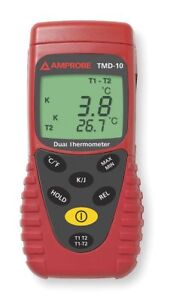 Amprobe Thermocouple Thermometer 2 In Type J K Tmd 10