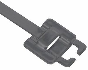Band it 18 In Nylon 11 Coated Stainless Steel Zip Tie Gre114