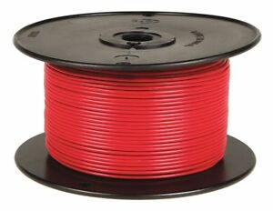 Battery Doctor 10 Awg Stranded Gpt pvc Primary Wire 60v Red 100 Ft 80042
