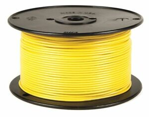 Battery Doctor 10 Awg Stranded Gpt pvc Primary Wire 60v Yellow 100 Ft