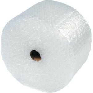 50 Ft Sealed Air Bubble Wrap Roll 1 2 12 Wide Perforated Every 12