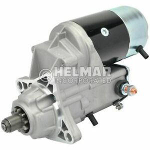 Hyster Forklift Starter 1388721 new Straight Drive no Gear Reduction Yes Volt 1