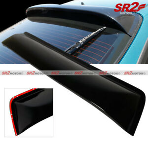 Rear Roof Spoiler Window Visor Glossy Black Wing Fits 94 01 Acura Integra Dc2