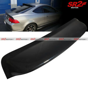 Rear Roof Spoiler Window Visor Wing Glossy Black Fits 02 06 Acura Rsx Dc5