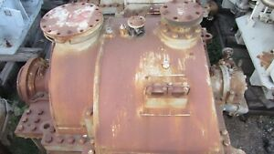 Westinghouse Steam Turbine 3100hp 26psi Inlet At 725 f Exhausting To 2 5 Hg Abs