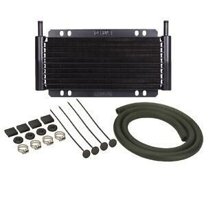 Derale 13215 Universal Series 8000 Plate Fin Power Steering Cooler Kit