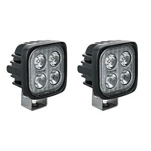Vision X Dura M4mkit Set Of 2 Universal Duralux Mini M4m Led Driving Fog Lights