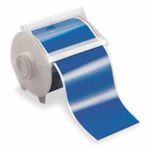 Brady Blue Polyester Label Tape Cartridge Indoor outdoor Label Type 100 Ft