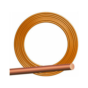 Southwire 10632802 Solid Bare Grounding Copper Wire 8 Gauge 500