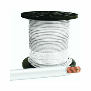 Southwire 20489112 Type Thhn 8 Stranded Building Wire White 500