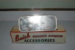 1940 s 1950 s Era Buick Guide Glare proof Rear View Mirror In Original Box