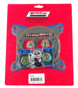 Holley qft Non stick Rebuild Kit Alcohol 4150 4150 H p 750 850