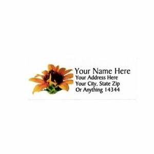 Sunflower Design Personalized Address Labels 50pcs design 2 free Us Shipping