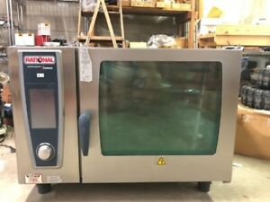 Rational Scc We 62 Electric Combi Oven 480 3ph Ac 60hz