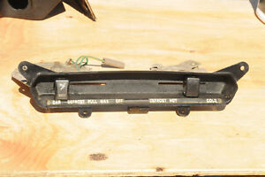 Triumph Spitfire Center Dash Vent And Heater Control Assembly