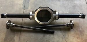 Complete Alum Ford 9 Inch Rear End Alum 3rd Member W posi 28 Spl Axles Hardware