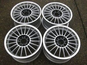 Custom Rare 17 Alpina Softline Rims 17x8 17x9 Restored To Showrm Condition