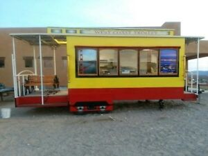 Custom One of a kind Trolley Food trailer