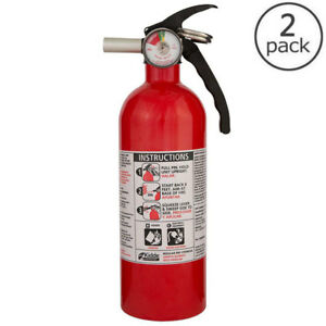 Kidde 5 B c Dry Chemical Fire Extinguisher Emergency Home Car Auto Garage Safety