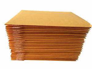 10 25 50 Pcs Kraft Bubble Mailers Padded Envelopes 6 X 9 Or 9 5 x14 5
