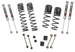 Skyjacker Jl25bpmlt Dual Rate Long Travel Lift Kit System 2 2 5 W M95 Shocks