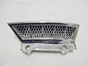 1965 1966 Mustang Fastback Fresh Air Vent Louver Grill Bezel Driver Lh