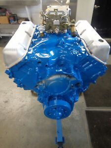 1970 71 Ford 429 Scj Cj Complete Rebuilt Engine With Carb Mustang Torino Cyclone