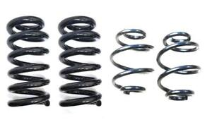 1963 1987 Chevy Gmc 1 2 Ton Truck 3 Front 4 Rear Lowering Coil Springs Kit