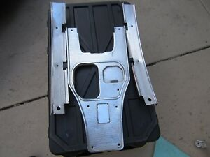 1963 Corvette Shifter Console Plate Set With Extensions 3pc Used Original