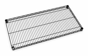 Metro 36 X 18 Stainless Steel Wire Shelf With 800 Lb Capacity Black