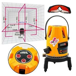 New Professional Automatic Self Leveling 5 Line 1 Point 4v1h Laser Level Ce