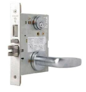 L9453p 07a 626 Schlage L Series Entrance With Deadbolt Commercial Mortise Lock W