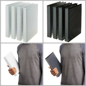 4 Pack 3 Ring Paper Binder Folder Planner Portfolio Organizer Holds 175 Sheets