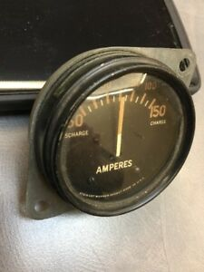 Stewart Warner Old Military Army Tank Nos Amp Gauge Vintage Dash Instrument Scta